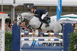 Greve Willem (NED) - Uceline<br /> World Championship Young Horses Lanaken 2008<br /> Photo Copyright Hippo Foto