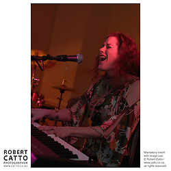 Caitlin Smith at the APRA Silver Scroll Awards 2004 at the Wellington Town Hall, Wellington, New Zealand.<br />