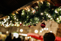 December 16, 2018 - Ansbach, Bavaria, Germany - Christmas decoration. Christmas Market in the Northern Bavarian town of Ansbach. (Credit Image: © Alexander Pohl/NurPhoto via ZUMA Press)