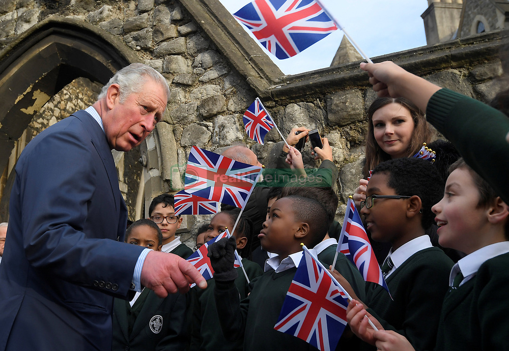 December 23, 2017 - London, London, United Kingdom - Image licensed to i-Images Picture Agency. 19/12/2017. London, United Kingdom.  The Prince of Wales arriving at a service of prayers by the Melkite Greek-Catholic community at St. Barnabas Church in London. (Credit Image: © Rota/i-Images via ZUMA Press)