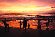 Colombo, Sri Lanka.Beach at the Galle Face Hotel, Colombo, Sri Lanka