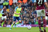Aston Villa v Derby County - Sky Bet Championship<br /> BIRMINGHAM, ENGLAND - APRIL 28 :  jaime hanson, of Derby County, goes on the attack at Villa Park