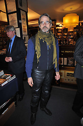JEREMY IRONS at a party to celebrate the publication of Maryam Sach's novel 'Without Saying Goodbye' held at Sotheran's Bookshop, 2 Sackville Street, London on 10th November 2009.