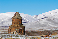 Turquie. Anatolie de l'Est. Kars. Ville morte d'Ani. Eglise Armenienne. // Turkey. East Anatolia Province. Kars. Dead city of Ani. Armenian church.