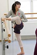 Universities in Vienna, Austria..Konservatorium Wien Privatuniversität..Ballett class.