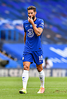 Football - 2019 / 2020 Premier League - Chelsea vs. Wolverhampton Wanderers<br /> <br /> Chelsea's Olivier Giroud, at Stamford Bridge.<br /> <br /> COLORSPORT/ASHLEY WESTERN