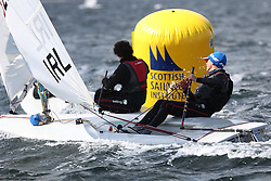 Day 4 NeilPryde Laser National Championships 2014 held at Largs Sailing Club, Scotland from the 10th-17th August.<br /> <br /> 182602, William FINDLAY<br /> <br /> Image Credit Marc Turner