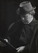 Arthur Llewelyn Jones Machen, author, England, UK, 1912