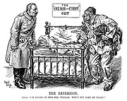 """The Reversion. Turkey. """"I'm giving up this bed, William. Won't you take my place?"""""""