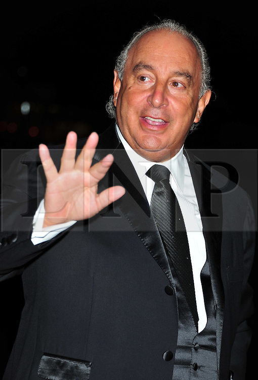 © Licensed to London News Pictures. 18/01/2012. London, England. Sir Phillip Green attends the Daily Mail Inspirational Women awards 2012 at the Marriot Grosvenor Hotel London  Photo credit : ALAN ROXBOROUGH/LNP