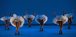 © Licensed to London News Pictures. 17/06/2014. London, England. Dress rehearsal of Dada Masilo - Swan Lake which is part of Sadler's Sampled, a two week taster festival of dance at low prices (standing tickets from GBP 8). Photo credit: Bettina Strenske/LNP