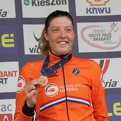 08-11-2020: Wielrennen: EK Veldrijden: Rosmalen: Manon Bakker