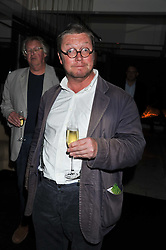 FERGUS HENDERSON at a party to celebrate the publication of 'Made In Sicily' by Giorgio Locatelli at Locanda Locatelli, Seymour Street, London on 4th October 2011.