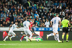 KRHIN Rene of Slovenia during the 2020 UEFA European Championships group G qualifying match between Slovenia and Austria at SRC Stozice on October 13, 2019 in Ljubljana, Slovenia. Photo by Peter Podobnik / Sportida