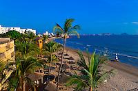 Beach at the Playa Mazatlan Hotel, Mazatlan, Sinaloa, Mexico