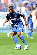 Cardiff city's  Kagisho Dikgacoi in action. Skybet football league championship match, Cardiff city v Fulham at the Cardiff city stadium in Cardiff, South Wales on Saturday 8th August  2015.<br /> pic by Carl Robertson, Andrew Orchard sports photography.