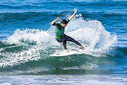 Cam Richards (USA) advances to Round 3 of the 2018 VANS US Open of Surfing after placing second in Heat 11 of Round 2 at Huntington Beach, California, USA.