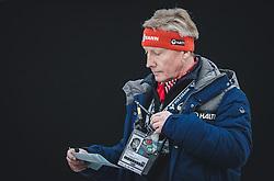 01.01.2019, Olympiaschanze, Garmisch Partenkirchen, GER, FIS Weltcup Skisprung, Vierschanzentournee, Garmisch Partenkirchen, 2. Wertungsdurchgang, im Bild Walter Hofer (FIS Skisprung Renndirektor) // Walter Hofer (FIS Ski Jumping Race Director) during his 2nd Competition Jump for the Four Hills Tournament of FIS Ski Jumping World Cup at the Olympiaschanze in Garmisch Partenkirchen, Germany on 2019/01/01. EXPA Pictures © 2019, PhotoCredit: EXPA/ JFK