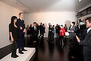 JENNIFER RUBELL; PRINCE WILLIAM WAXWORK'Engagement' exhibition of work by Jennifer Rubell. Stephen Friedman Gallery. London. 7 February 2011. -DO NOT ARCHIVE-© Copyright Photograph by Dafydd Jones. 248 Clapham Rd. London SW9 0PZ. Tel 0207 820 0771. www.dafjones.com.