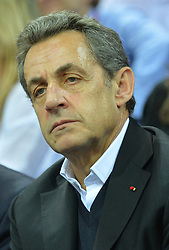 File photo - Nicolas Sarkozy, former French president and head of the French right-wing opposition UMP party,at the UCI Track Cycling World Championships in Saint-Quentin-en-Yvelines, near Paris, France on February 22, 2015. Former French President Nicolas Sarkozy was in police custody on Tuesday morning March 20, 2018, an official in the country's judiciary said. He was to be questioned as part of an investigation into suspected irregularities over his election campaign financing, the same source added. The probe related to alleged Libyan funding for Sarkozy's 2007 campaign, Le Monde newspaper reported. Photo by Christian Liewig/ABACAPRESS.COM