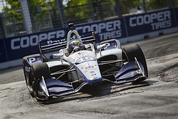 July 14, 2018 - Toronto, Ontario, Canada - ZACHARY CLAMAN DE MELO (19) of Canada takes to the track to practice for the Honda Indy Toronto at Streets of Toronto in Toronto, Ontario. (Credit Image: © Justin R. Noe Asp Inc/ASP via ZUMA Wire)