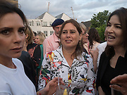 VICTORIA BECKHAM; ALEX SHULMAN; NIGELLA LAWSON, Alex Shulman goodbye party. Dock Kitchen, Ladbroke Grove. London. 22 June 2017