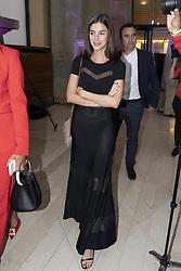 May 3, 2019 - Madrid, Spain - Sandra Gago to the party  presentation of the Mutua Madrid Open 2019, at the Prado Museum in Madrid, Spain, 03 May 2019. The Mutua Madrid Open runs from 3 until 12 May 2019. (Credit Image: © Oscar Gonzalez/NurPhoto via ZUMA Press)