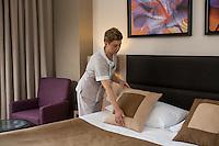 Room service in Mirotel Resort & Spa hotel. Mirotel is 5* resort located in the heart of Truskavets, in western Ukraine.