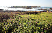 Lihou island, Guernsey, is a 'Site of Nature Conservation Importance' and rich in archaeological remains.