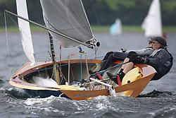 Peelport Clydeport Largs Regatta Week 2013 <br /> <br /> Merlin Rocket, La Belle Electra, 3546, Brian Kelly and Lorna Drysburgh<br /> <br /> Largs Sailing Club, Largs Yacht Haven, Scottish Sailing Institute