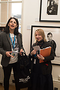 CARLA BOREL; CARRIE KANIA,, Opening of Photo London, 2018. Somerset House. London. 16 May 2018