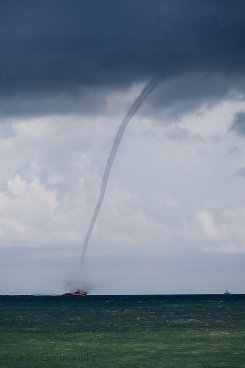 Waterspout off the coast of Gulf Shores Alabama.