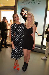 Laura Pradelska and India Rose James at the Emporio Armani YOU fragrance launch at Sea Containers, 18 Upper Ground, London England. 20 July 2017.<br /> Photo by Dominic O'Neill/SilverHub 0203 174 1069 sales@silverhubmedia.com