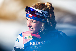 Eva Kristejn Puskarcikova (CZE) during the Women 15 km Individual Competition at day 2 of IBU Biathlon World Cup 2019/20 Pokljuka, on January 23, 2020 in Rudno polje, Pokljuka, Pokljuka, Slovenia. Photo by Peter Podobnik / Sportida