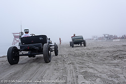The fog rolled in duringTROG (The Race Of Gentlemen) in Wildwood, NJ. USA. Saturday June 9, 2018. Photography ©2018 Michael Lichter.