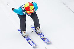 Lisa Demetz of Italy during Normal Hill Individual Competition at FIS World Cup Ski jumping Ladies Ljubno 2012, on February 11, 2012 in Ljubno ob Savinji, Slovenia. (Photo By Vid Ponikvar / Sportida.com)