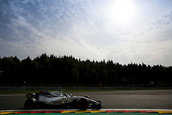 August 25, 2017 - Francorchamps, Belgium - LANCE STROLL of Canada and Williams Martini Racing drives during practice session of the 2017 Formula 1 Belgian Grand Prix in Francorchamps, Belgium. (Credit Image: © James Gasperotti via ZUMA Wire)