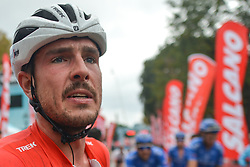 October 14, 2018 - Istanbul, Turkey - John Degenkolb of Germany and Trek-Segafredo at the finish line of the sixth stage - the Salcano Stage 166.7km from Bursa to Istanbul, of the 54th Presidential Cycling Tour of Turkey 2018. .On Sunday, October 14, 2018, in Istanbul, Turkey. (Credit Image: © Artur Widak/NurPhoto via ZUMA Press)