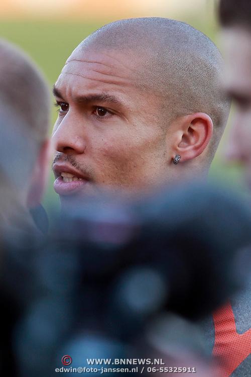 NLD/Katwijk/20110321 - Training Nederlandse Elftal Hongarije - NLD, Nigel de Jong