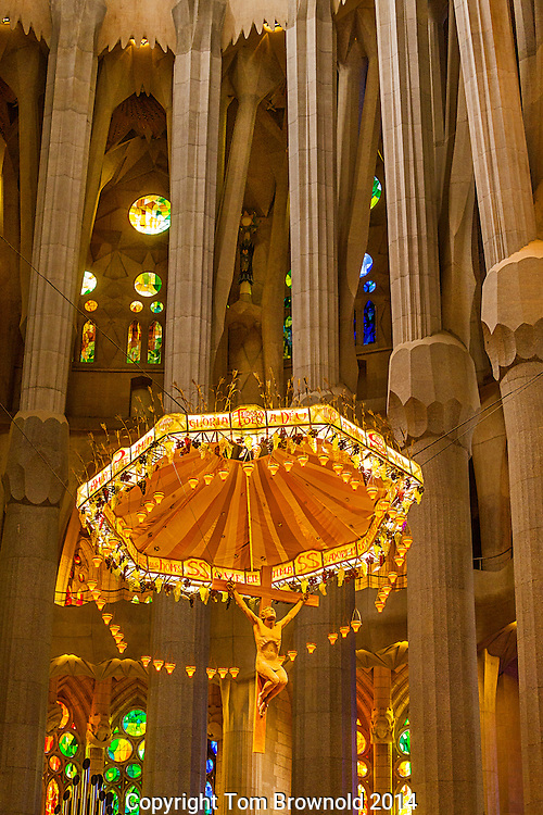 The Center of the Sagrada Familia