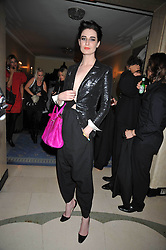 ERIN O'CONNOR at a party hosted by Mulberry during London fashion Week 2009 at Claridge's Hotel, Brook Street, London on 20th September 2009.