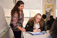 St Pauls School classroom photos.  ©2019 Karen Bobotas Photographer