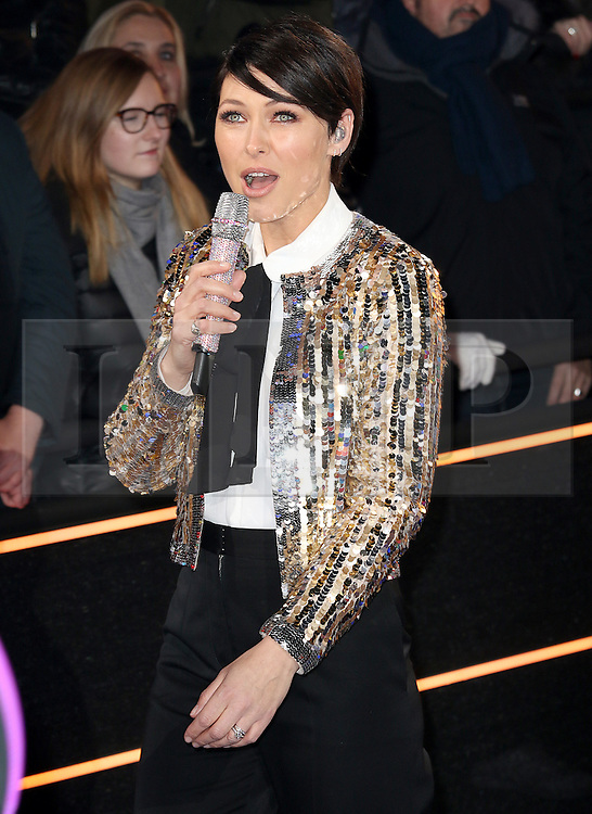 © Licensed to London News Pictures. 03/01/2017. London, UK, Emma Willis, Celebrity Big Brother: WInter 2017 - Live Launch Show, Photo credit: Brett Cove/LNP