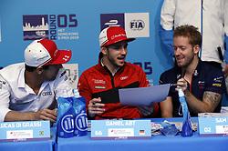 March 10, 2019 - Hong Kong, HONG KONG - (R-L) # 2, Sam BIRD, GBR, Envision Virgin Racing, Audi, e-tron, # 66, Daniel ABT, GER, # 11, Lucas DI GRASSI, BRA, both Audi Sport ABT Schaeffler,.HONG KONG, CHN, 10. March 2019, Formula E Hong Kong .E-Prix, FIA Formula E, Formula E Grand Prix 2019.  Formel E, Elektro e-prix Autorennen (Credit Image: © David McIntyre/ZUMA Wire)