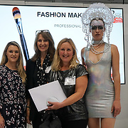 Olympia London, London, England, UK. The Olympia Beauty show saw make-up artists, hairdressers, nail technicians and students create stunning face and body designs, at Kensington Olympia in London on 1st October 2017. The best in professional beauty, nails, tanning and complementary therapies were on show to the public at this trade and exhibitor show.