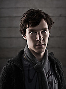 Benedict Cumberbatch, actor, photographed at the National Theatre, London