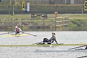 Hazewinkel, BELGIUM,  competing in the Monday Morning Final.  British Rowing Senior Trails, Bloso Rowing Centre. Monday  12/04/2010.  [Mandatory Credit. Peter Spurrier/Intersport Images]