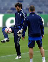 Photo: Richard Lane.<br />Chelsea training session. UEFA Champions League. 30/10/2006. <br />Chelsea's goalkeeper, Henrique Hilario.