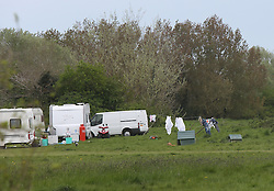"""Gosport,Hampshire Monday 9th May 2016 <br /> ravellers have upgraded from the DC Leisure Centre complex in Forest Road to Alver Country Park on Grange Road over the weekend. The travellers  have descended upon a Gosport beauty spot leaving angry families urging council chiefs to kick them off.<br /> <br /> Up to 20 caravans were still illegally occupying Alver Country Park this morning after first entering the site at on Friday evening with some moving onto the site over the weekend.<br /> <br /> Their arrival has dismayed visitors to the tranquil park today, many of whom were demanding Gosport Council to force them out and even start clamping their vans.<br /> <br /> <br /> This morning anxious council bosses called it """"unauthorised encampment"""" and said they had already taken steps to try to get them off by starting an eviction process.<br /> <br /> They also gave the travellers a deadline to leave, but this has passed and they still remain at the site.<br /> <br /> People visiting the site, many of whom were with their children, said they want them gone.<br /> <br /> <br /> <br /> Lauren Park who was visiting the park with her two young children to use the newly installed play facility, said: """"It's disgusting, they know full well they shouldn't be here.""""<br /> <br /> Dog walker Claire Drake  said: """"It is quite intimidating, they don't seem to care about being here.""""""""@UKNIP"""