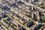 Nederland, Utrecht, Utrecht, 18-02-2015;  de wijk Tuindorp in Utrecht-Noordoost.<br /> Garden village.<br /> luchtfoto (toeslag op standard tarieven);<br /> aerial photo (additional fee required);<br /> copyright foto/photo Siebe Swart